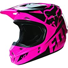 Fox Racing V1 Race 2016 Youth MX/Offroad Helmet Pink MD by Fox Racing