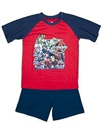 Boys Marvel Avengers Hulk Ironman Captain America Shorty Pyjamas Sizes from 3 to 10 Years