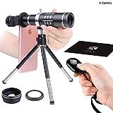 1f6d61c5848 Juego de lentes universales 3 en 1 con obturador de cámara con control  remoto Bluetooth +