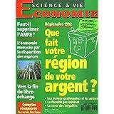 SCIENCE ET VIE ECONOMIE N°81, MARS 1992. FAUT-IL SUPPRIMER L'ANPE / REGIONALES 1992, QUE FAIT VOTRE REGION DE VOTRE ARGENT ? / L'ECONOMIE MENACEE PAR LA DISPARITION DES ESPECES / VERS LA FIN DU LIBRE-ECHANGE / ...