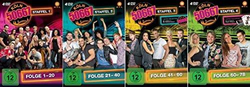 Vols. 1-4: Folge 1-80 (16 DVDs)