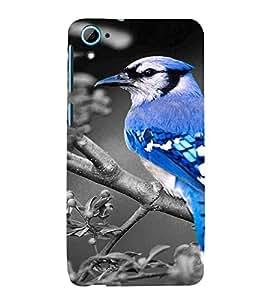 Bird, Black, Sparrow, Amazing Pattern, Printed Designer Back Case Cover for HTC Desire 826 :: HTC Desire 826 Dual Sim