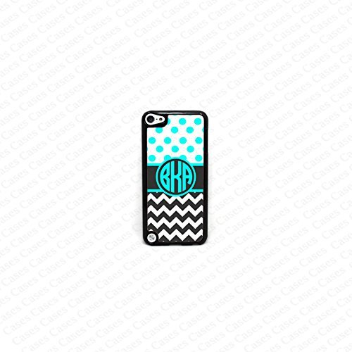 Krezy Case Monogram iPod Touch 5 Case, Colorful Chevron Pattern Monogram iPod 5 Case, Polka Dots Monogram iPod 5 case, iPod 5 Cover