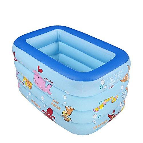 Preisvergleich Produktbild Vier Kinder aufblasbaren Pool PVC-Karikatur Kinderbecken von qualitativ hochwertigen Kinderspielzeug