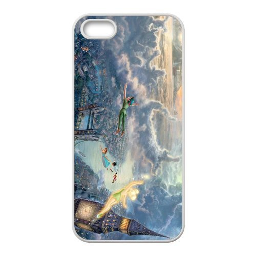 iPhone 5/iPhone 5S Case Coque, Screen Protector pour iPhone 55S, Peter Pan Designs iPhone 5S Case, iPhone 5/iPhone 5S Coque de protection Case