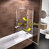 faltbare duschwand fuer badewanne - Vergleich von