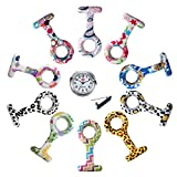 LANCARDO Krankenschwester Herren Damen Armbanduhr Analog mit Silikon Armband LCD17P094