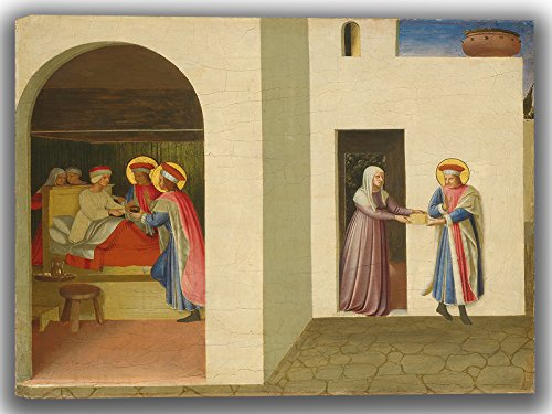 fra-angelico-the-healing-of-palladia-by-saint-cosmas-and-saint-damian-fine-art-canvas-30-x-20-inches