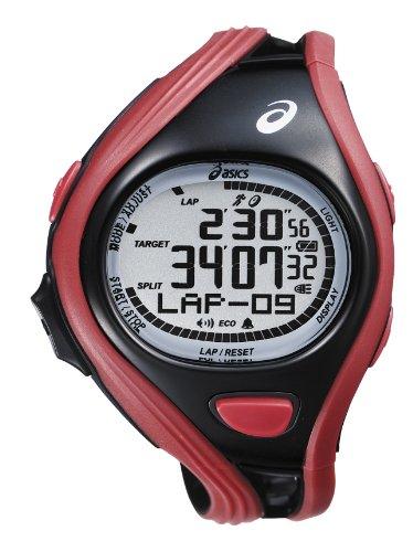 Asics CQAR0404 – Reloj digital de cuarzo unisex con correa de plástico, color multicolor