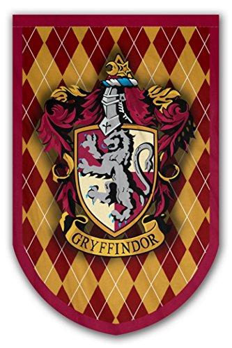 Harry Potter Stil Banner-Gryffindor Flagge 94x 61cm-beidseitig bedruckt-langlebig genug für Außerhalb Bedingungen-Perfekt-Man Cave Geschenk-Einzigartiges HP Sammlerstück - Hewlett Packard Kostüm