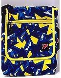 Umhängetasche Tablet Seven Shoulderbag Muster Blau Gelb