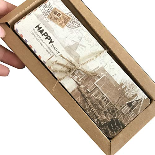 quanjucheer Lesezeichen, Vintage-Stil, Vintage-Stil, Vintage-Stil, Briefpapier, Geschenk, 30 Stück multi