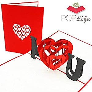 PopLife Cards Te amo tarjeta