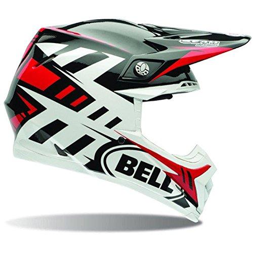 Bell Helme MX 2017moto-9Flex Erwachsene Helm, Syndrom rot, Größe XL