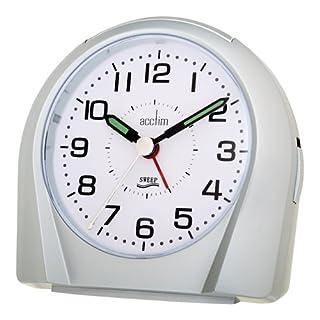 Acctim Europa 14117 Wecker mit schleichendem Uhrwerk