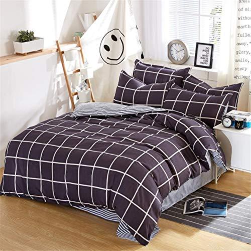 Jwans Bettbezug Bettlaken Leinen Kissenbezüge Set Bettwäsche-Sets Full King Twin Queen Size 3/4 stücke Doppelbett - Twin-size-bettlaken