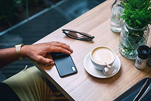 """QUADOCTA iPhone 6 (4,7"""") Ultra Slim Case - Schutzhülle - """"Tenuis"""" in Schwarz - Ultra dünne iPhone Hülle - Leicht transparentes Case Set: 3 x Solid Schwarz"""