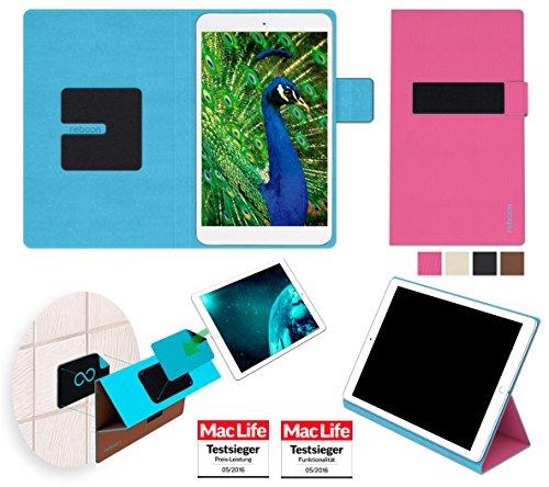 reboon Hülle für Blaupunkt Polaris 808 Tasche Cover Case Bumper | in Pink | Testsieger
