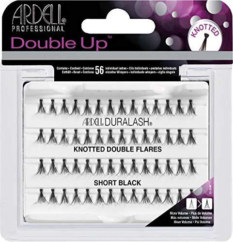 98d52e4b461 Ardell, Tratamiento para pestañas (Double Up Individuals Knotted Short  Black) - 25 gr. Belleza
