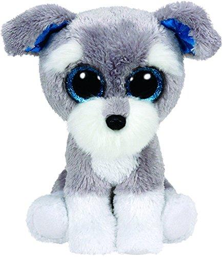 "Beanie Boo Dog - Whiskers - Schnauzer - 24cm 9"""