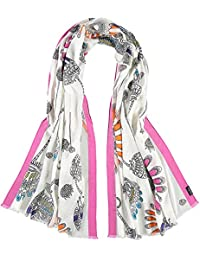 FRAAS Women's Baumwolle Stola Stole, Rosa (Pink 450), One Size