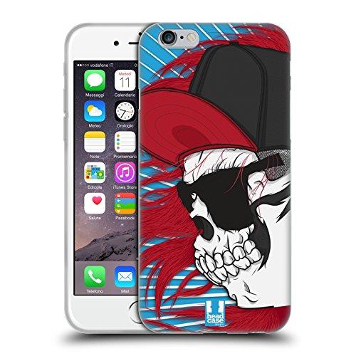 Head Case Designs Swagger Jung Totenkopf Showdown Soft Gel Hülle für Apple iPhone 6 / 6s Swagger Mädchen