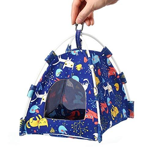 Cute Wind Papagei Kleines Haustier Universal Zelt Vogel Zelt Leinwand Zelt Warm Nest Cave Große Kann Waschen Kann Hung