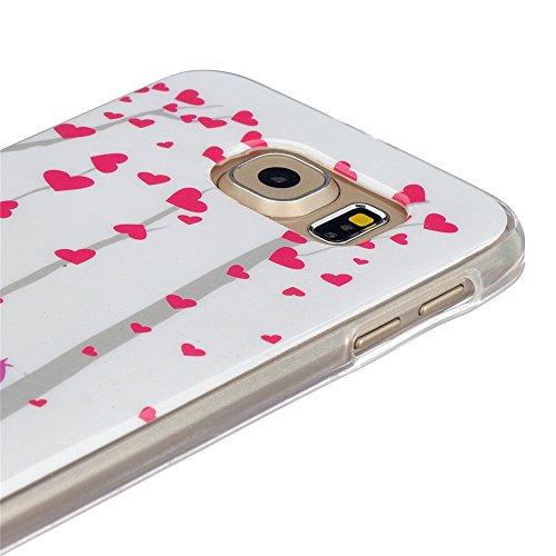 Qiaogle Téléphone Coque - Soft TPU Silicone Housse Coque Etui Case Cover pour Apple iPhone 5C (4.0 Pouce) - YH30 / Mignon chat sac dos YH32 / Amour Baiser