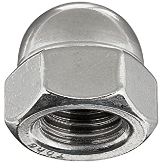 Hard-to-Find Fastener 014973178055 Stainless Acorn Nuts, 3-Piece