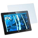 atFolix Displayschutzfolie für CSL Panther Tab 10 HD Schutzfolie - 2 x FX-Clear kristallklare Folie