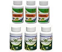 Purenaturalherb Fat Burner - Garcinia Cambogia With Green Tea Extract 70% HCA & Green Coffee Bean 70% GCA- 60 Capsules Weight Loss Supplement Combo (Pack of 6)