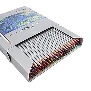 Marco Raffine Buntstifte Stück 72Farben sortiert Art Supplies taotree Zeichnen Bleistift für Schule Season Künstler Skizzieren Schreiben Erwachsene Malbücher Secret Garden Enchanted Forest
