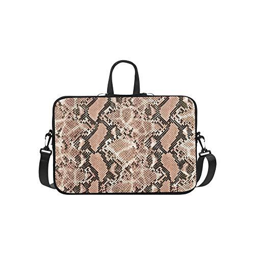Verschiedene Schlangenhaut Muster Aktentasche Laptoptasche Messenger Schulter Arbeitstasche Crossbody Handtasche Für Geschäftsreisen -