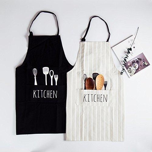 aoxun-cotton-couples-kochschurze-mit-fronttasche-bedrucktes-messer-und-gabel-kitchen-word-schurze-mi