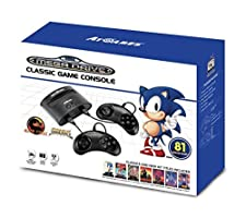 Sega Mega Drive Classic Game Retro Console 81 Built-In Games