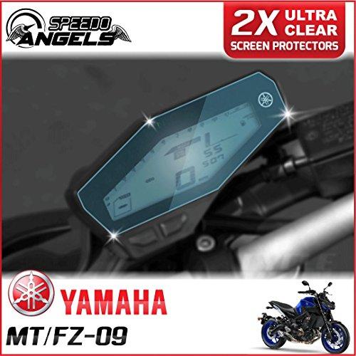 Preisvergleich Produktbild 2x YAMAHA MT-09 / FZ-09 Displayschutzfolie Tachoschutzfolie Screen Protector - Ultra Clear
