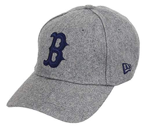 A NEW ERA Gorra de béisbol 9FORTY Winter Utility Melton Boston Red Sox Gris  - Ajustable 00eda5c1e62
