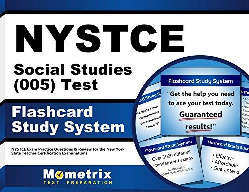 Nystce Social Studies (005) Test Flashcard Study System                 by Nystce Exam Secrets (EDT)