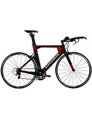 Orbea Ordu M35–Bicicleta de triatlón–rojo/negro 2016montaña triatlón, color negro, tamaño L (55.9 cm)