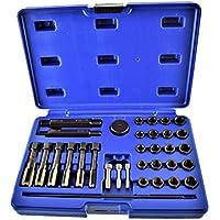 Bujías Kit de reparación de roscas métricas Culata 8mm 10mm ...