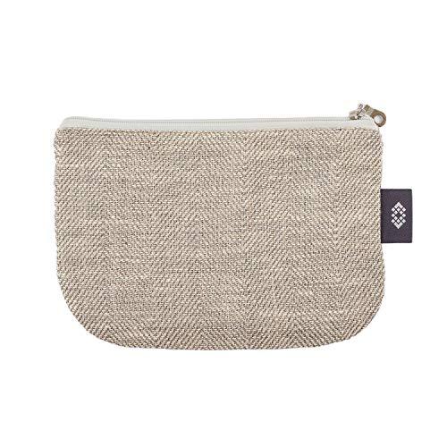 �rse Kosmetiktasche - Doppellagige 100% Leinen - Geldbeutel - iPhone Hülle - Kleine Make-up Tasche - Reisetasche - Reißverschluss Tasche | Handgefertigte durch ThingStories ()