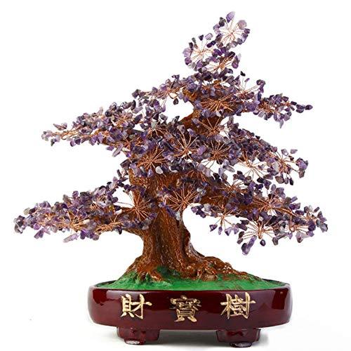Yayoushen citrino quarzo pietra preziosa soldi albero naturale cristallo ricchezza fortunato albero albero ufficio soggiorno grande mossa salute guarigione regalo casa buona fortuna decoratio