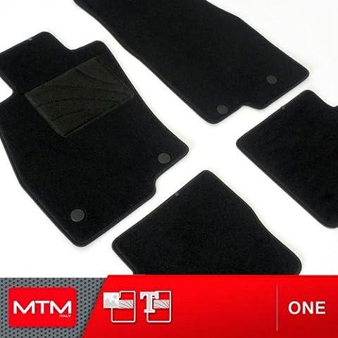 Alfombrillas a medida para coche MTM One de terciopelo punzonado para Kia Ceed SW desde 2007-2012