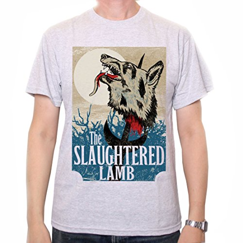The Slaughtered Lamb T Shirt - Classic Movie Pub Sign Inspired by American Werewolf In London