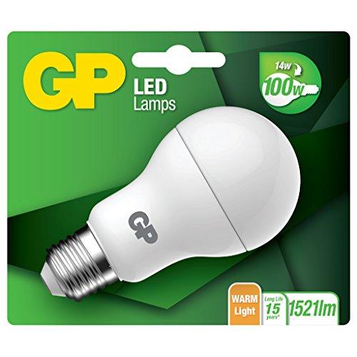 Preisvergleich Produktbild GP Lighting LED Classic E27 14W (100W) 14W E27 warmweiß Leuchtstofflampe