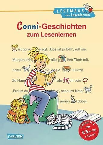 LESEMAUS zum Lesenlernen Sammelbände: Conni-Geschichten zum Lesenlernen: Bild-Wörter-Geschichten – mit Bildern lesen lernen