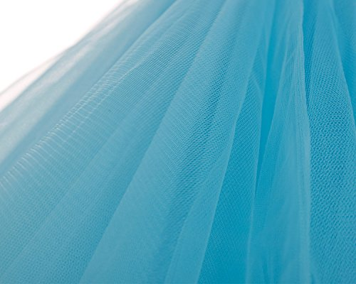 Bridesmay Donna Breve Partito Tutu Vintage Ballerina Gonna Cosplay Sottogonne Blue