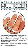 Multisizer UK Ring Sizing Gauge (Pack of 10)