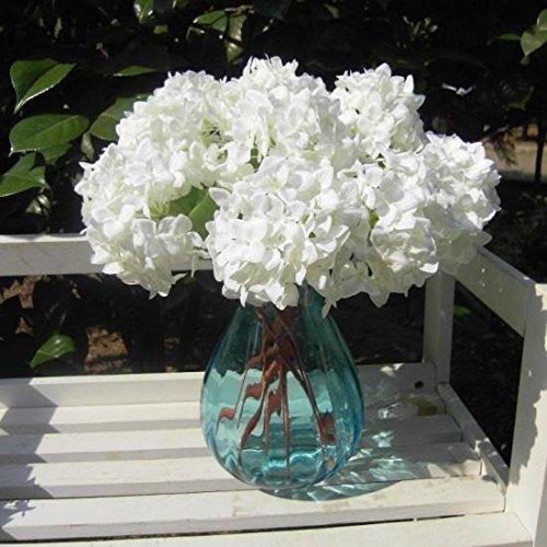 Hochzeit Hortensie Dekorationen (Kicode Silk Fälschungs-Hortensie künstlich DIY 13.26