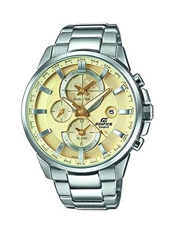 Casio Edifice – Herren-Armbanduhr mit Analog-Display und Edelstahlarmband – ETD-310D-9AVUEF